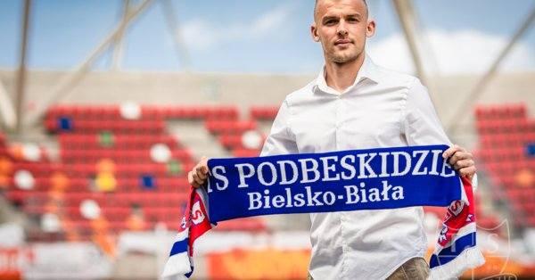Filip Modelski przedłużył o rok umowę z Podbeskidziem
