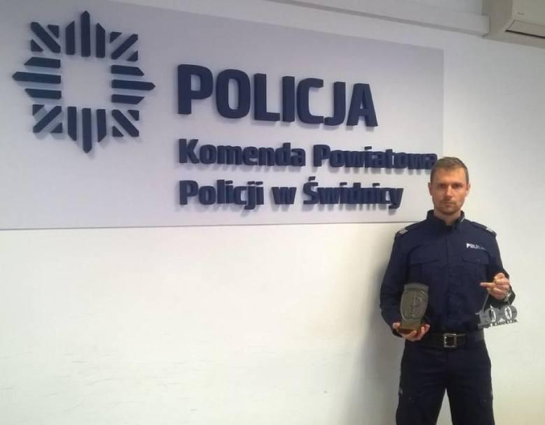Nasz policjant najszybszy w biegu na 100 kilometrów!