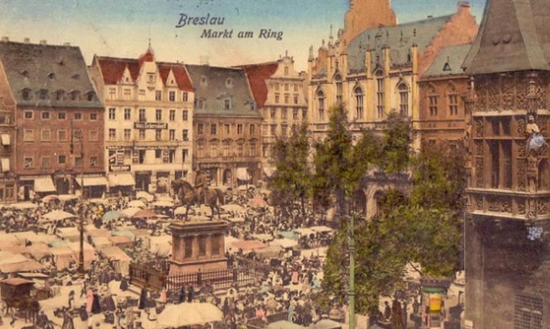 Tak wyglądało życie w Breslau (UNIKATOWE POCZTÓWKI I AKWARELE)