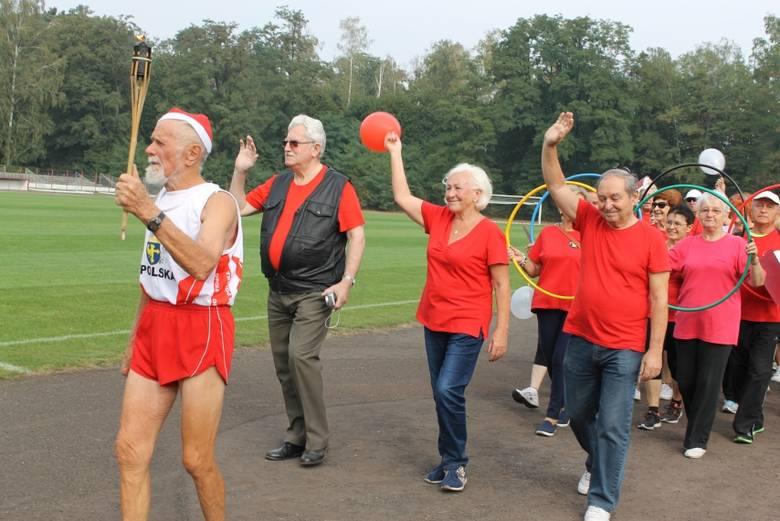 Seniorzy z Namysłowa mieli swoje igrzyska (zdjęcia)