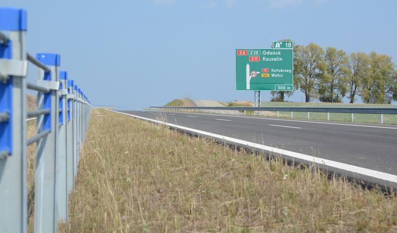 S6 sięgnęła do Koszalina. 130 km nowej drogi ekspresowej