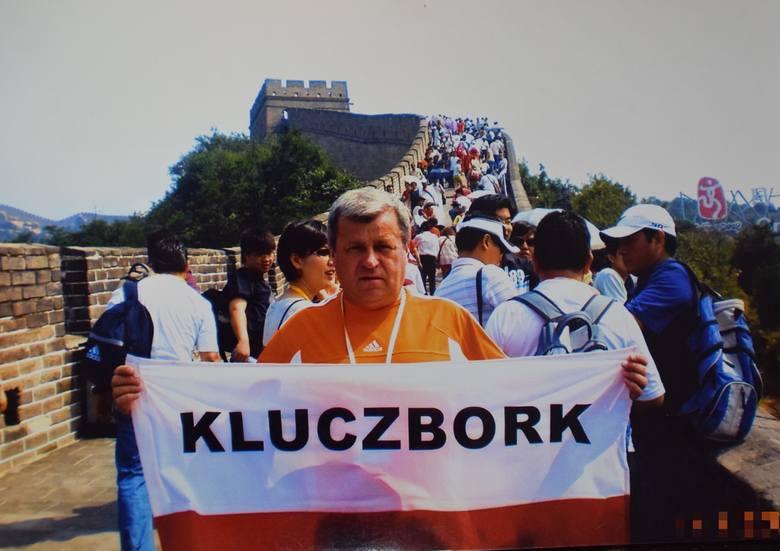 Adam Sokołowski z Kluczborka - mistrz Polski kibiców.