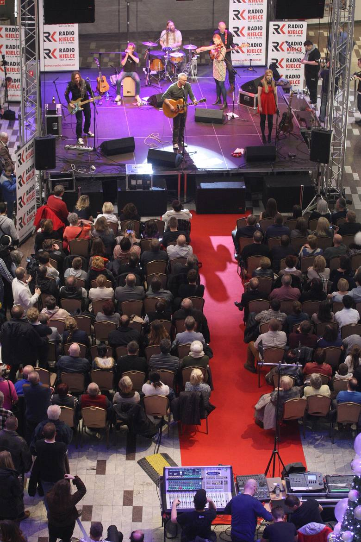 Koncert Red Box w Galerii Korona w Kielcach