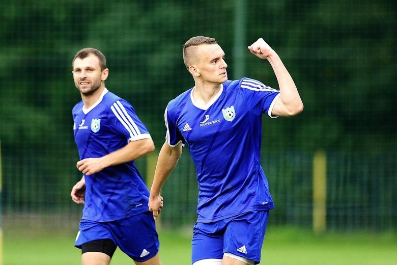 Piłkarz KS-u Krapkowice znowu mieli powody do radości