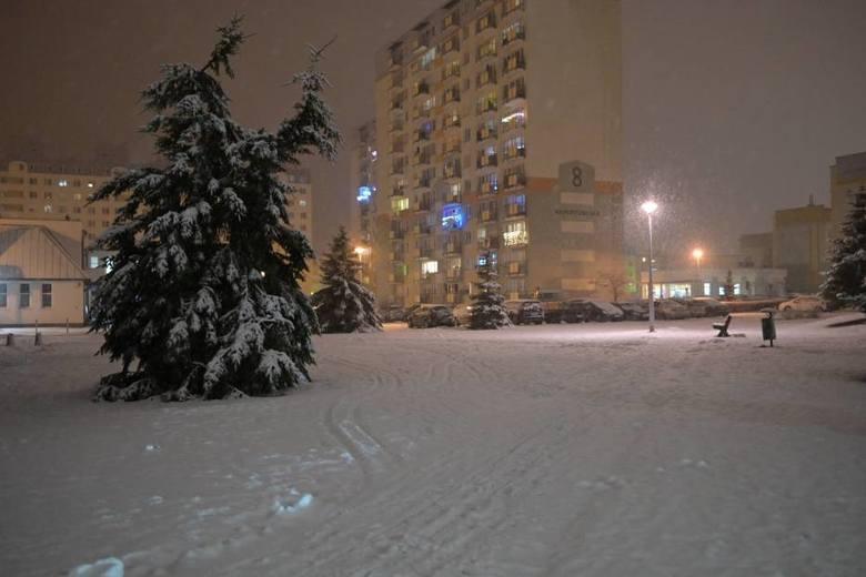 Sytuacja na drogach w Grudziądzu - 5 stycznia 2021.
