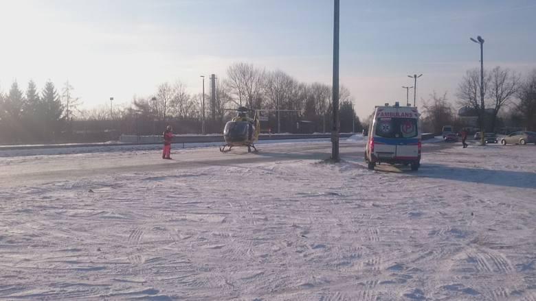 Awaria helikoptera LPR w Strzyżowie