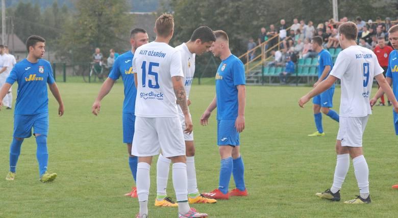 W meczu czwartej ligi GKS Rudki wygrał u siebie z Alitem Ożarów 1:0 (0:0). Zwycięską bramkę w doliczonym czasie gry, dokładnie w 92 minucie, zdobył Tomasz