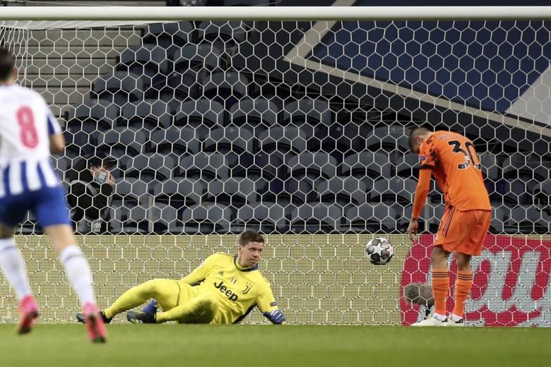 Wojciech Szczęsny i Rodrigo Bentancur nie popisali się przy pierwszej bramce dla FC Porto