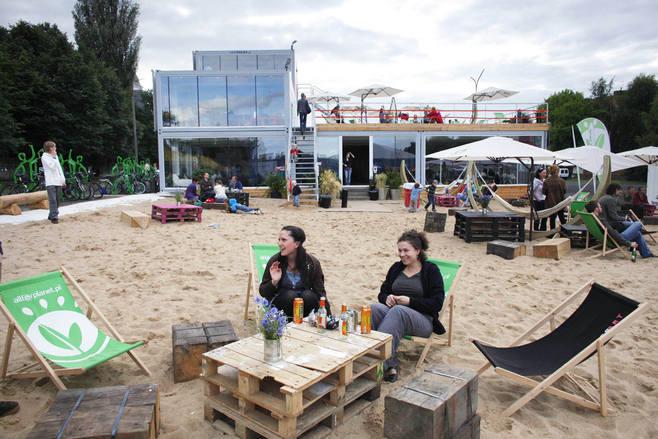 Piknik ekologiczny w KontenerArt