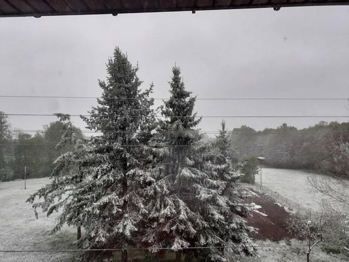 Zima wróciła w Podlaskie 12.05.2020