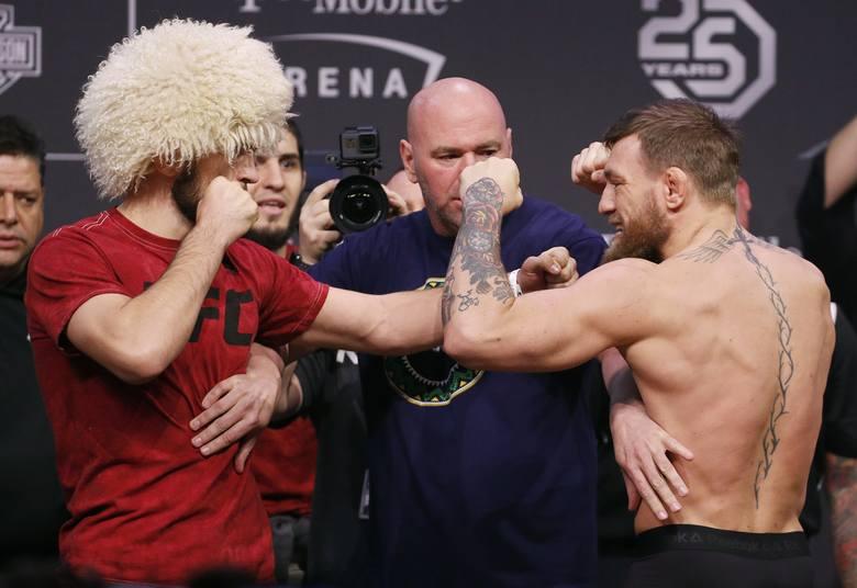 Nurmagomiedow i McGregor