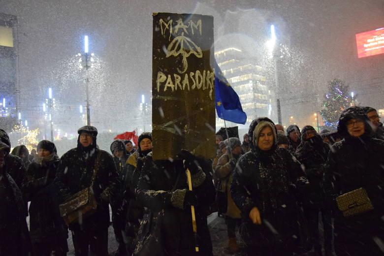 Czarna środa w Katowicach