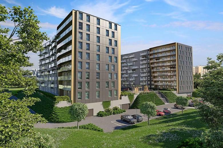 Oferta inwestycji Murapol Apartamenty Trzy Stawy w Katowicach to kawalerki oraz mieszkania 2- i 3- pokojowe, od 27 do 62 mkw.