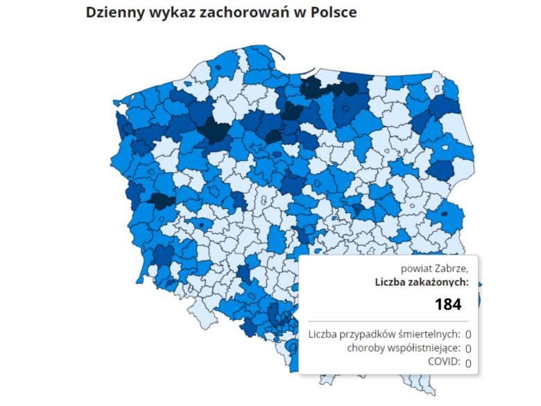 Koronawirus w woj. śląskim: 4605 zakażeń w środę, 24.03.2021 r. To pierwsze miejsce w kraju. Niestety, padł rekord, blisko 30 tys. chorych.Sprawdź dokładne