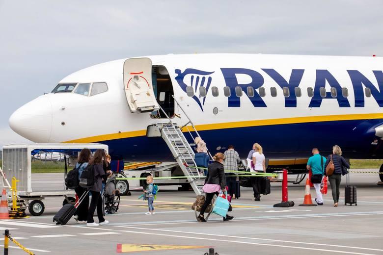 Ryanair ogłosił rozkład połączeń z Poznania na lato 2021