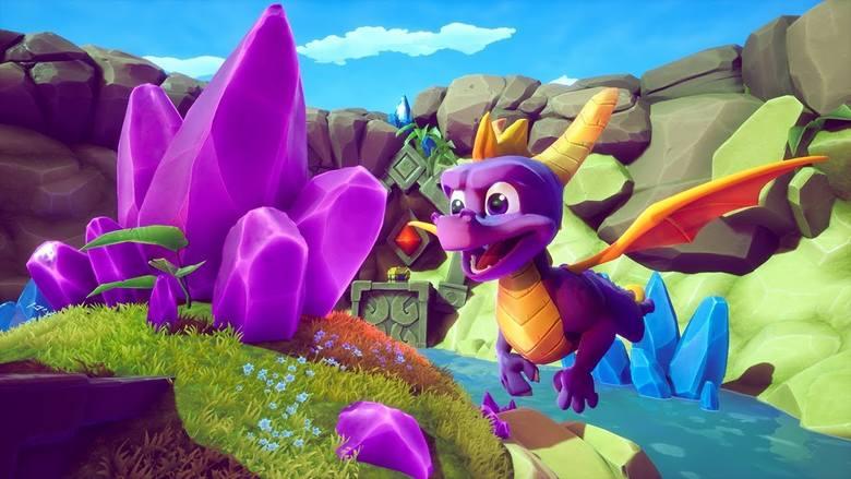 Kolekcja odświeżonych wersji trzech platformówek 3D, wydanych oryginalnie na pierwsze PlayStation, których bohaterem jest mały, fioletowy smok Spyro: