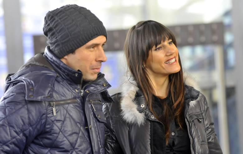 18.12.2009, Kraków: Mauro Cantoro z żoną Adrianą