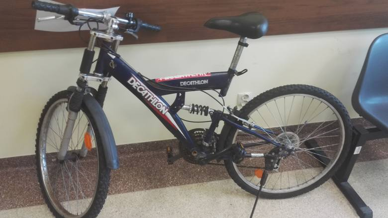Policja szuka właściciela roweru.