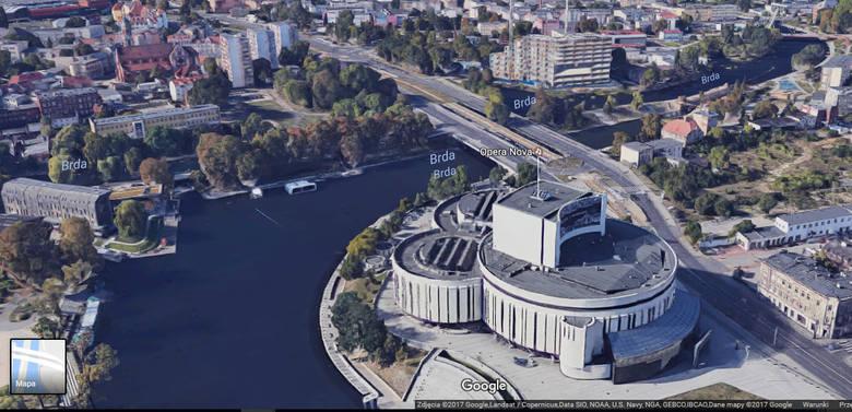 Trójwymiarowe zdjęcia Bydgoszczy można oglądać już na Google Maps lub na Google Earth. Trzeba przyznać, że nasze miasto prezentuje się świetnie, a specjaliści