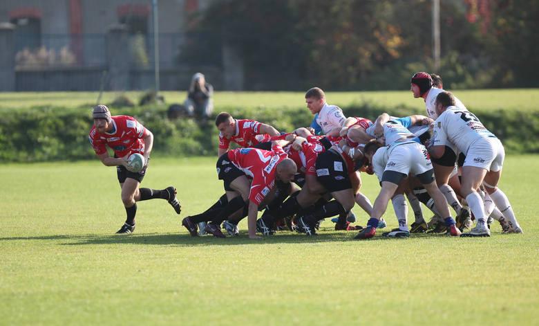 Ekstraliga rugby: Master Pharm Budowlani Łódź - Juvenia Kraków 71:12 [ZDJĘCIA]