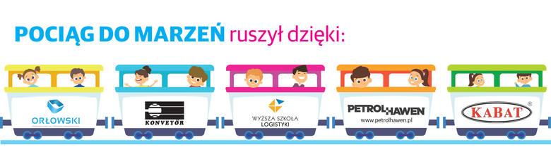 """Podaruj dzieciom wakacje i przyłącz się do naszej akcji """"Pociąg marzeń""""!"""