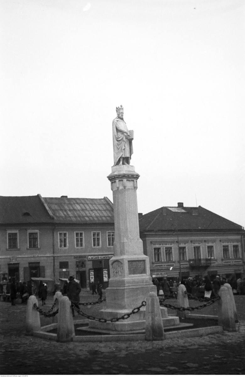 Bochnia - fragment rynku, 1933