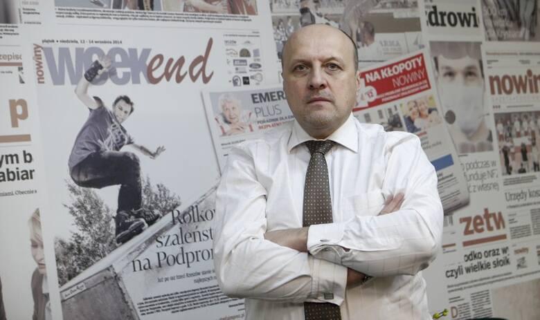 Dr Marek Cierpiał-Wolan, dyrektor Urzędu Statystycznego w Rzeszowie.
