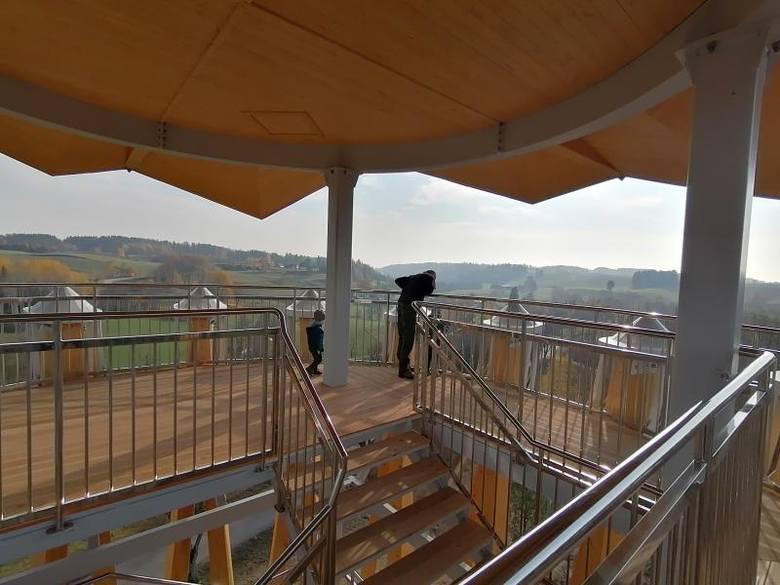 Pobłędzie/Stańczyki. Nowe wieże widokowe oficjalnie otwarte dla turystów (zdjęcia)
