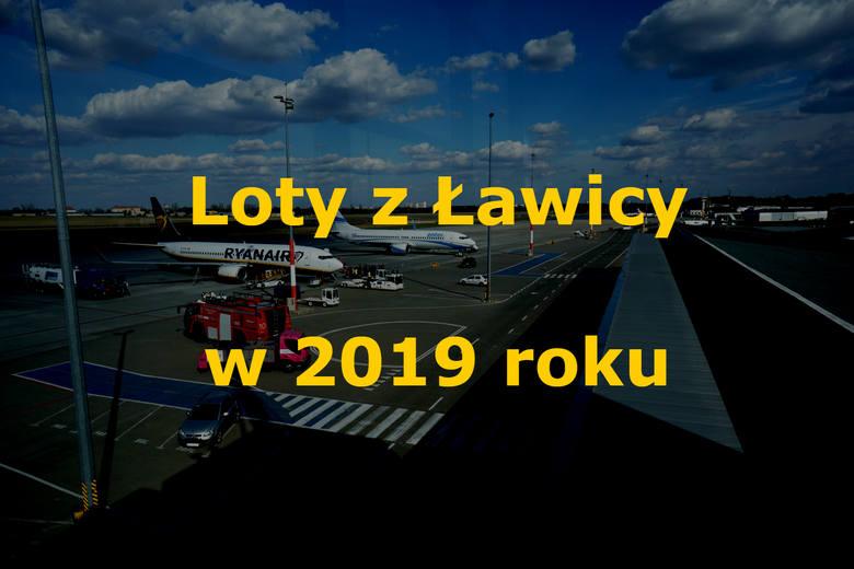 Nowy rok warto zacząć z dobrym planem. Oto lista miejsc, do których możemy latać bezpośrednio z Poznania. Mimo że sporo kierunków zniknęło z lotniczej