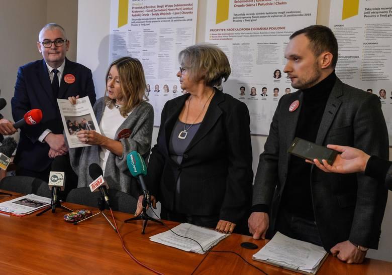 07.02.2019 rz. Wszystko dla Gdańska i Lepszy Gdańsk odnawiają porozumienie programowe miesiąc po śmierci prezydenta Pawła Adamowicza