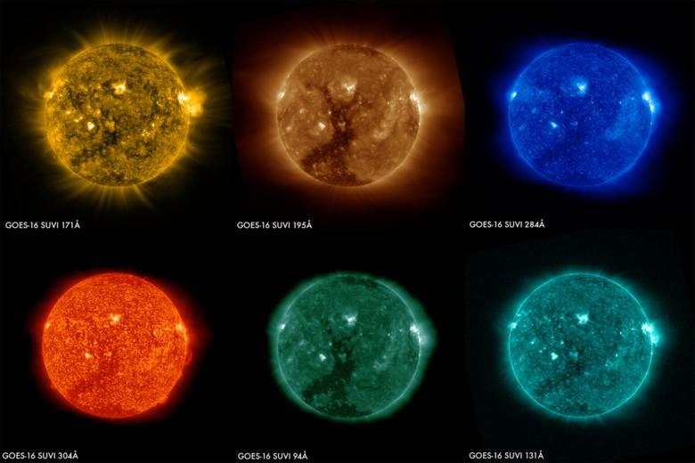 Słońce rzeczywiście wydaje się żółte, jednak dzieje się tak za sprawą ziemskiej atmosfery. W rzeczywistości, jak każda inna gwiazda, Słońce świeci białym