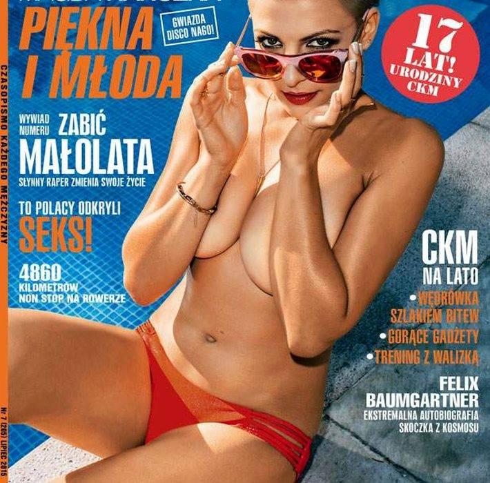 Magda Narożna w CKMMagda Narożna prawie nago w CKM