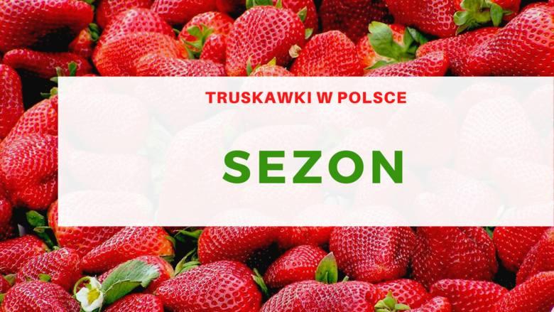 SezonMaj i czerwiec to czas, w którym praktycznie wszyscy sięgniemy po polskie truskawki.