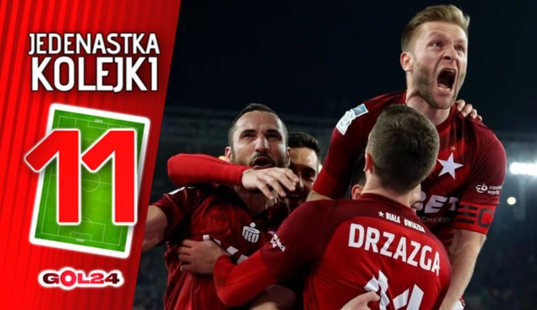 Pięciu z Wisły Kraków. Jedenastka 27. kolejki Lotto Ekstraklasy według GOL24 [GALERIA]