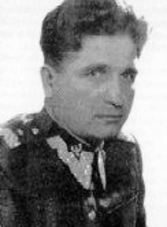 Generał brygady Konrad Świetlik, dowodził KBW w latach 1946-1948