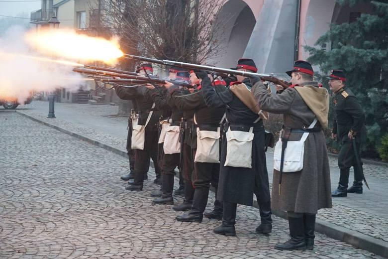 W niedzielę w Opatowie wspominaliśmy bitwę opatowską z 25 listopada 1863, kiedy to powstańcy styczniowi zaatakowali Ratusz w Opatowie, wzięli do niewoli