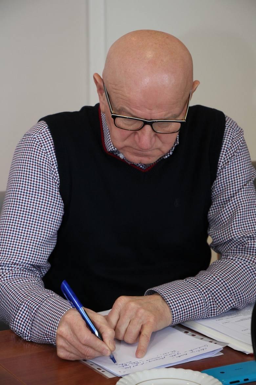 Stanisław Tarnawski, naczelnik wydziału sportu, kultury i turystyki w urzędzie miasta.