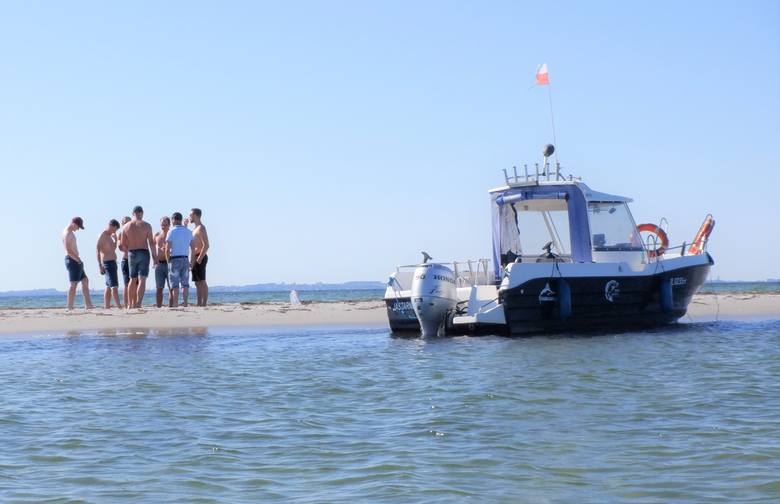 Często dopływają tu załogi łodzi motorowych
