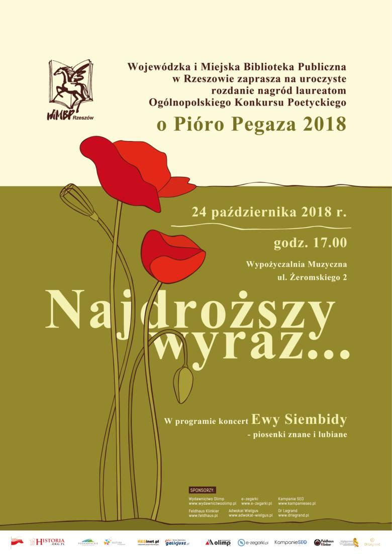 """Uroczyste rozdanie nagród w konkursie """" O Pióro Pegaza"""" 2018 w  Wojewódzkiej i Miejskiej Bibliotece Publicznej w Rzeszowie"""