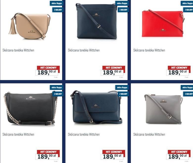 930716b6550e2 Wittchen / Lidl Wittchen w Lidlu: torebki, portfele, rękawiczki i paski.  Kolekcja Wittchen w Lidlu już od 2 grudnia 2017 (2.12.2017) mat.