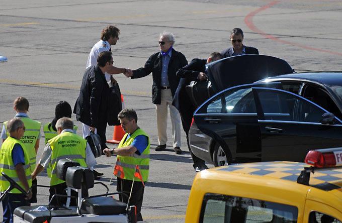 Jose Carreras wylądował w Bydgoszczy