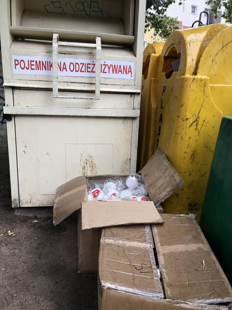 Pudełka życia, mogłyby pomóc wielu ludziom, a zostały wyrzucone.