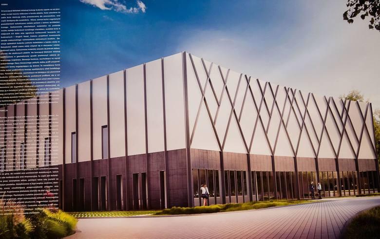 Nowa biblioteka UwB  będzie się mieściła obok Uniwersyteckiego Centrum Kultury na kampusie. Na elewacjach będą geometryczne formy drzew, które po podświetleniu będą imitować świetlisty las.