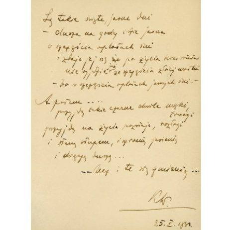 4.<br /> PAMIĘTNIK DANUTY PUKŁÓWNY<br /> Czy wiecie, że Karol Wojtyła po maturze nie tylko chodził na kremówki, ale także na przyjęcia? 25 maja 1938r. koledzy i koleżanki z wadowickich gimnazjów spotkali się na wspólnym świętowaniu zdanego egzaminu dojrzałości. Danuta Pukło, koleżanka Karola...