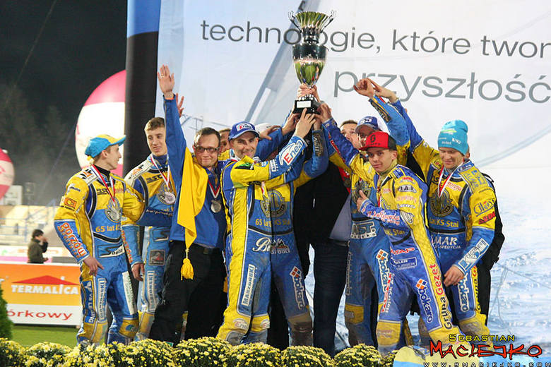 Zawodnicy Stali Gorzów zdobyli tytuł wicemistrza Polski.