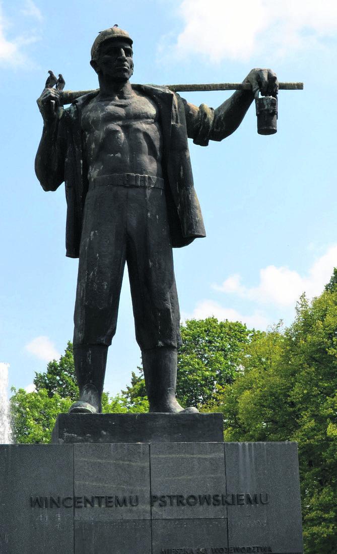 Pomnik Wincentego Pstrowskiego w Zabrzu