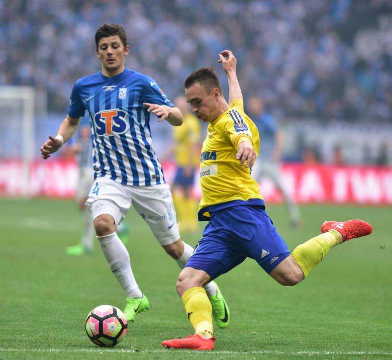 Lech Poznań przegrał z Arką Gdynia 1:2
