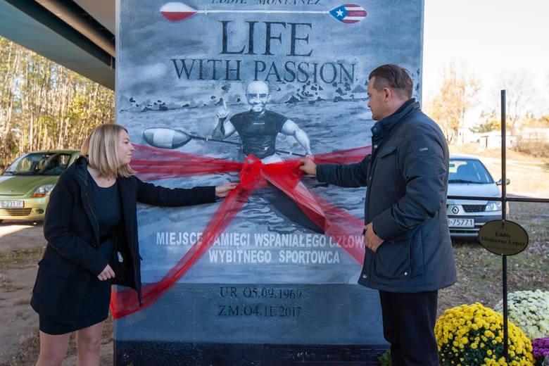 Eddie Montanez ma swój mural w Bydgoszczy. Odsłonięto go na jednym z filarów mostu Kazimierza Wielkiego, w miejscu, z którego będzie doskonale widoczny