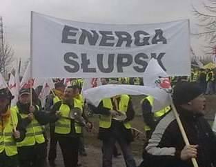 Związkowcy z Energi porozumieli się z koncernem. Protest z udziałem słupszczan odwołany.