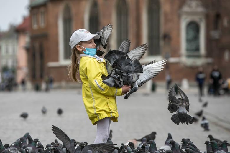 """Sobota na Rynku Głównym - pierwsza po """"odmrożeniu"""" branży gastronomicznej"""
